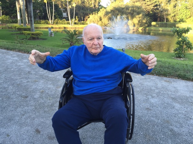 Howard Salzman breathing and stretching exercises October 23, 2015