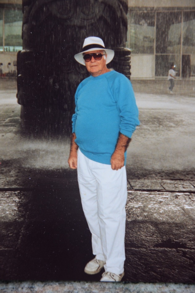 Howard Salzman in panama hat