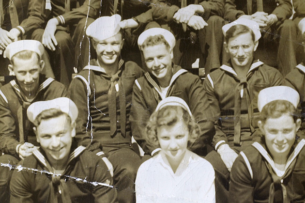 Howard Salzman in navy group shot